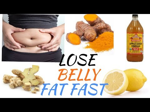 how-to-lose-belly-fat-fast-in-7day-(weightloss-remedies)