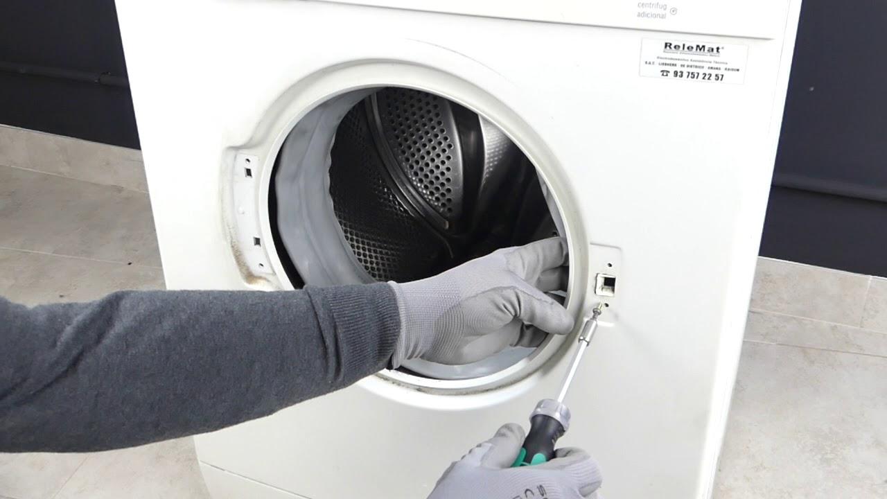 Como Cambiar La Goma Escotilla De Una Lavadora Bosch Maxx Youtube