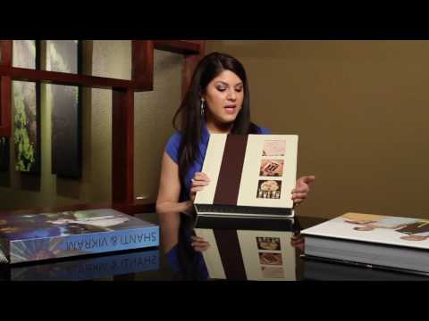 Wedding Album Designs - Cover Options For Flush Mount Wedding Albums In Magazine Style