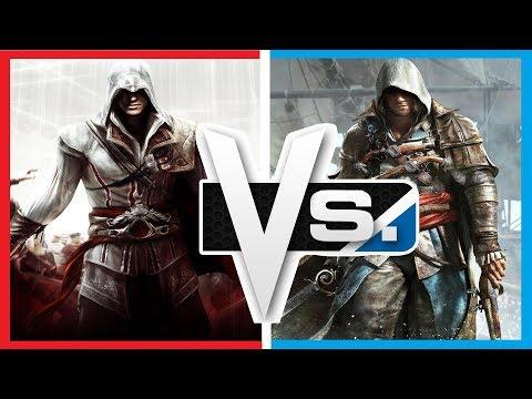 Versus Series | Ezio Auditore Vs. Edward Kenway