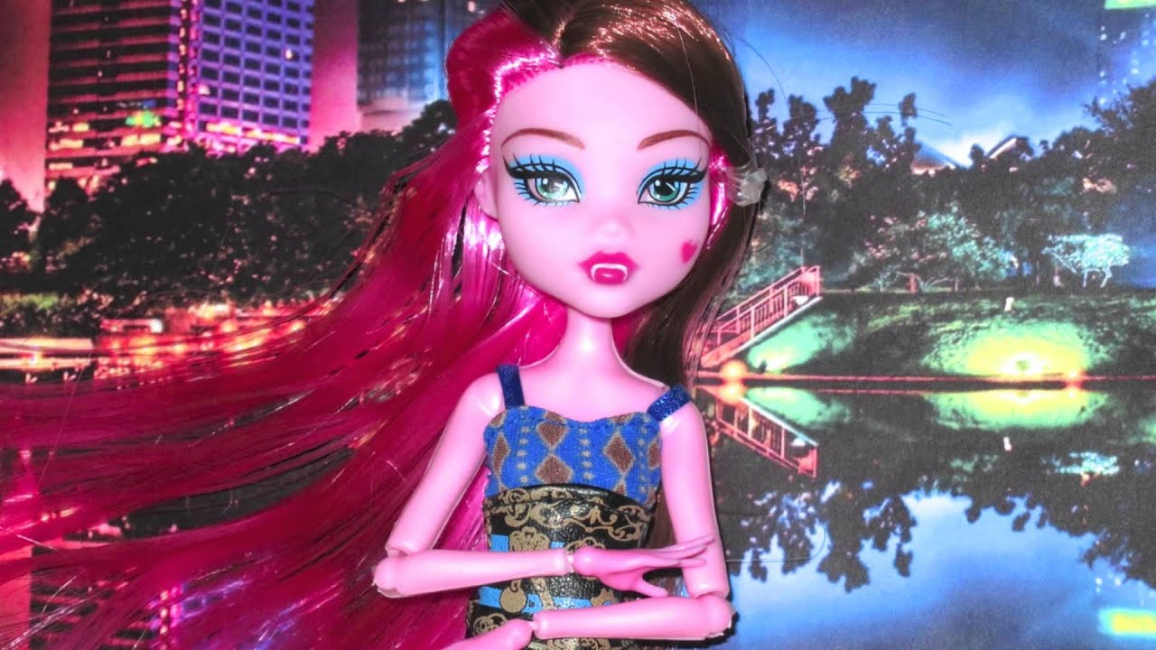 My Fake Monster High Doll From China Youtube