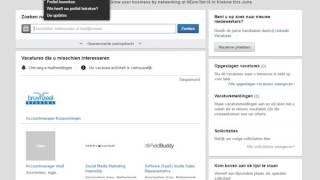 Vacature linkedin screenshot 3