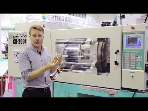 Two Color Injection Molding Machine by Creator at Taipei Plas 2016