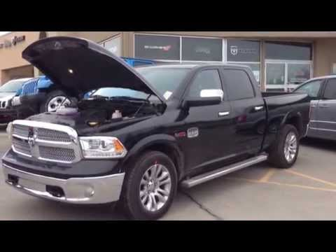 2014 Black Ram 1500 Laramie Longhorn Ecodiesel First Look