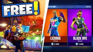 SAUVER THE FREE WORLD, NEW SKINS, DETAILS UPDATE Fortnite Battle Royale! 3.6