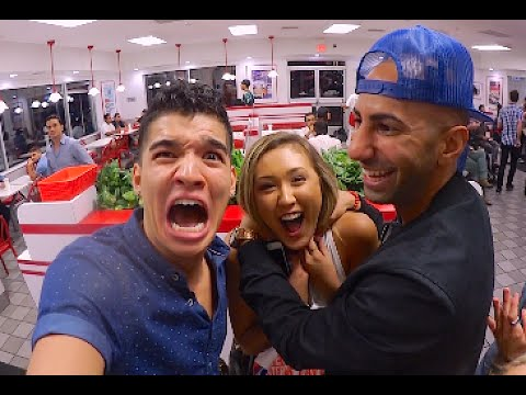 CHOKE OUT AT iN N OUT!!
