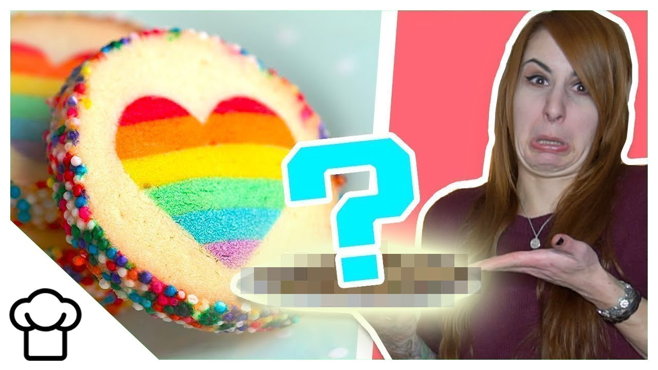 Trendy Regenbogen - Kekse ????