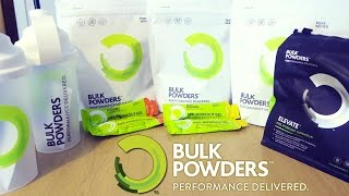 Bulk Powders Review: Pure Whey Protein (3 Flavours)