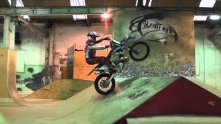 Graham Jarvis training at The Works skate park Leeds thumbnail