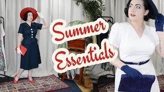 My Vintage Style Summer Essentials - Top 8 Summery Style Favorites