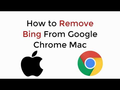 How To Remove Bing From Google Chrome Mac UPDATED