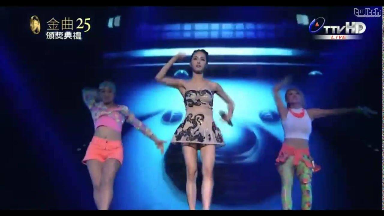 [1080p HD] 140628 蔡依林 Jolin - 舞孃 & 特務J & 愛無赦 & 野蠻遊戲 @ 第25屆金曲獎頒獎典禮 25th Golden Melody Awards - YouTube