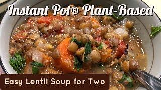 Instant Pot® Easy Lentil Soup for Two