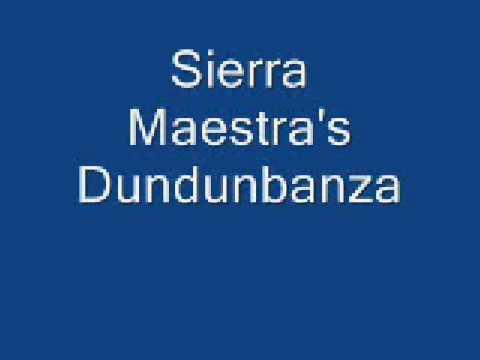 Sierra Maestra's Dundunbanza