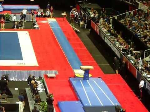 McKayla Maroney Vault 1  2012 USA Gymnastics Olympic Trials Day 2  YouTube