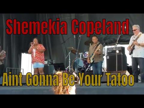 Shemekia Copeland ~ Aint Gonna Be Your Tattoo - Northeast Blues Festival 2018 - Bangor Maine