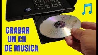 Como copiar musica de un cd