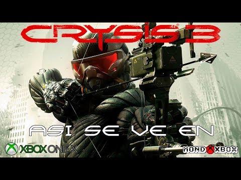 Asi se ve Crysis 3 en Xbox One X (no mejorado) retrocompatible |MondoXbox