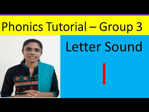 16.Phonics Tutorial for Teachers/Letter Sound 'l'/Jolly Phonics Group-3/Katral Elithu/Tamil thumbnail