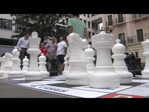 Chess on the rock