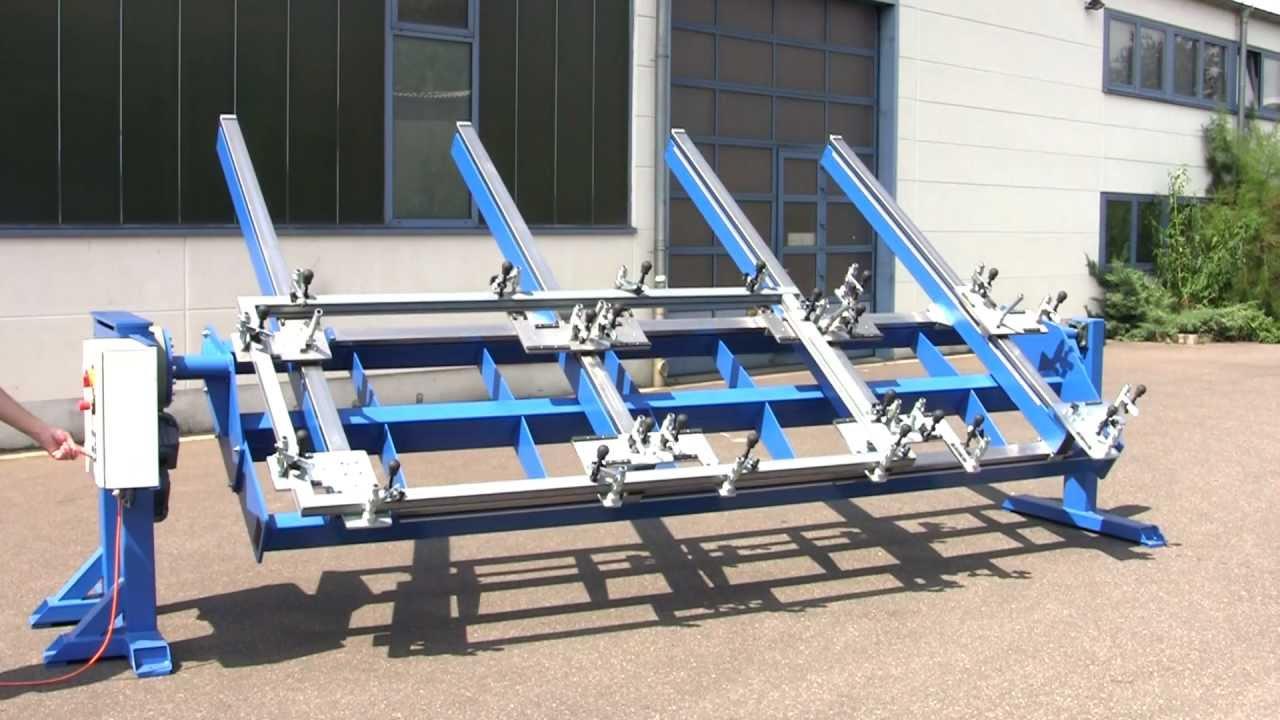 Schwei 223 Vorrichtung Zum Rahmen Schwei 223 En Frame Welding