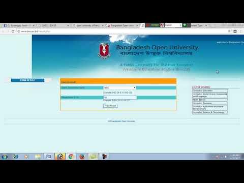 Bangladesh Open University - Results