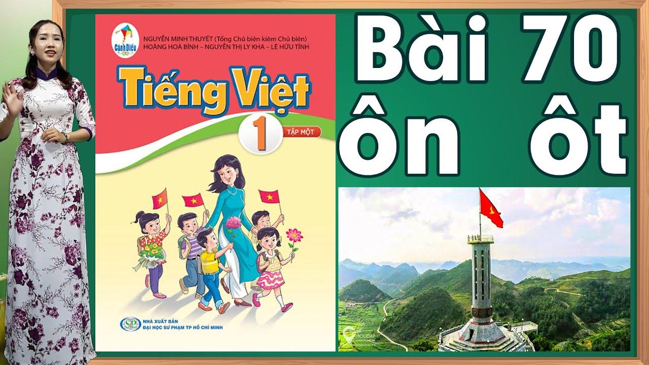 Tiếng việt lớp 1 sách cánh diều - Bài 70|Bảng chữ cái tiếng việt |learn vietnamese