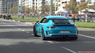 Supercars Accelerating - Chiron, 918 Spyder, Straight Piped Carrera GT, 720HP M4, AMG GT4,...