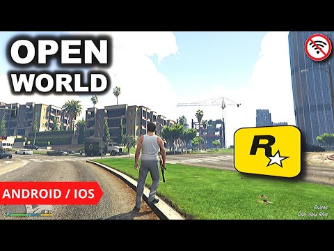 Top 5 OPEN WORLD GAMES By Rockstar For Android/iOS | Offline Open World Games