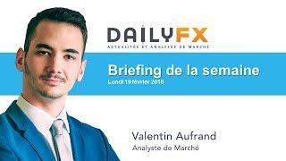 Briefing de la semaine : Jour férié aux Etats-Unis, Minutes de la Fed mercredi