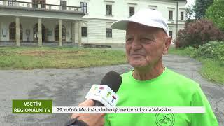 VSETÍN: 29. ročník Mezinárodního týdne turistiky na Valašsku