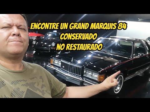 ‼️ Encontre un Grand Marquis 84 conservado‼️ Evolucion del Marquis