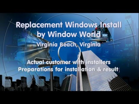 Window World Replacement Window Install Virginia Beach, VA