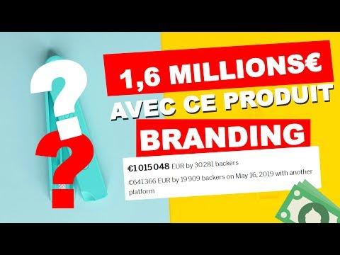1,6 MILLIONS D'€ AVEC CE PRODUIT - Étude du Branding en DROPSHIPPING thumbnail