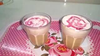 Evdeki Malzemelerle Cappuccino Yapımı