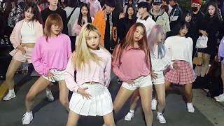[다이아나]청하(CHUNGHA)☆롤러코스터(ROLLERCOASTER)☆COVER 홍대버스킹 20180415일 [HONGDAE KPOP STREET DANCE]