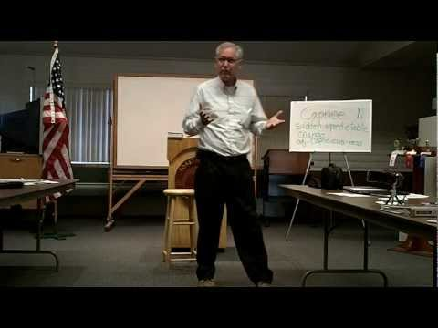 Mark Aksamit shares Christ with the Toastmasters o...