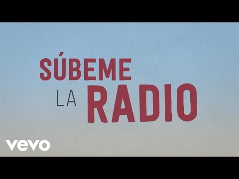 Enrique Iglesias  SUBEME LA RADIO Animated Lyric  ft Descemer Bueno, Zion & Lennox