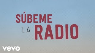 Enrique Iglesias - SUBEME LA RADIO Animated Lyric Video ft. Descemer Bueno, Zion & Lennox thumbnail