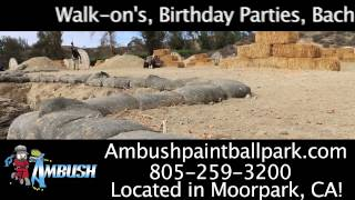 Ambush Paintball & Airsoft 15 second commercial