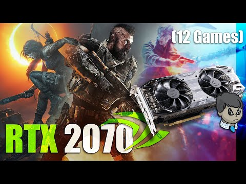 "RTX 2070  12 Games in 1080P  ""COD Black Ops 4"" ""Forza Horizon 4"" etc."