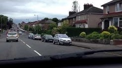 Driving lessons Glasgow - Turning right at traffic lights