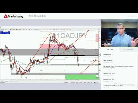 Forex Trading Strategy Webinar Video For Today: (LIVE 8.8.18)