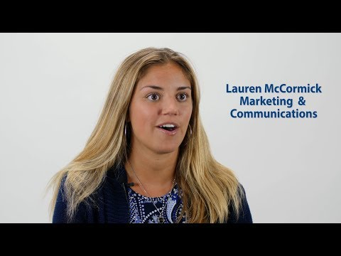 Marketing and Communitions Intern Lauren - 2018