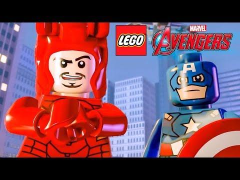 REUNINDO OS VINGADORES no LEGO Marvel's Avengers (LEGO Vingadores) #04 Dublado em Português