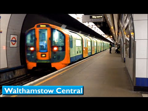 London Underground : Walthamstow Central | Victoria line ( 2009 Tube Stock )