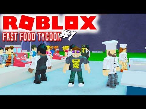 FAST FOOD ÆBLER! - Roblox Fast Food Tycoon Dansk Ep 1