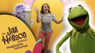 Visiting the Jim Henson Exhibit at MoPOP! || Adorkable Rachel