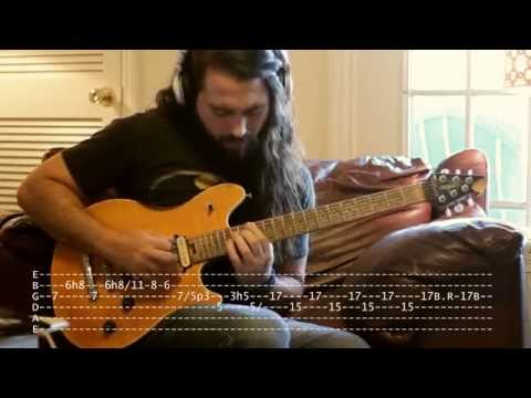 TAB VERSION - MASTER CLASS WITH ZAKK WYLDE - Sleeping Dogs Version by WARLEYSON ALMEIDA