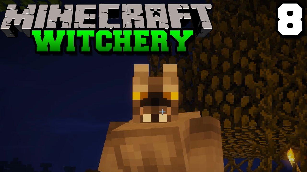 Der WERWOLF | Minecraft WITCHERY #8 | baastiZockt